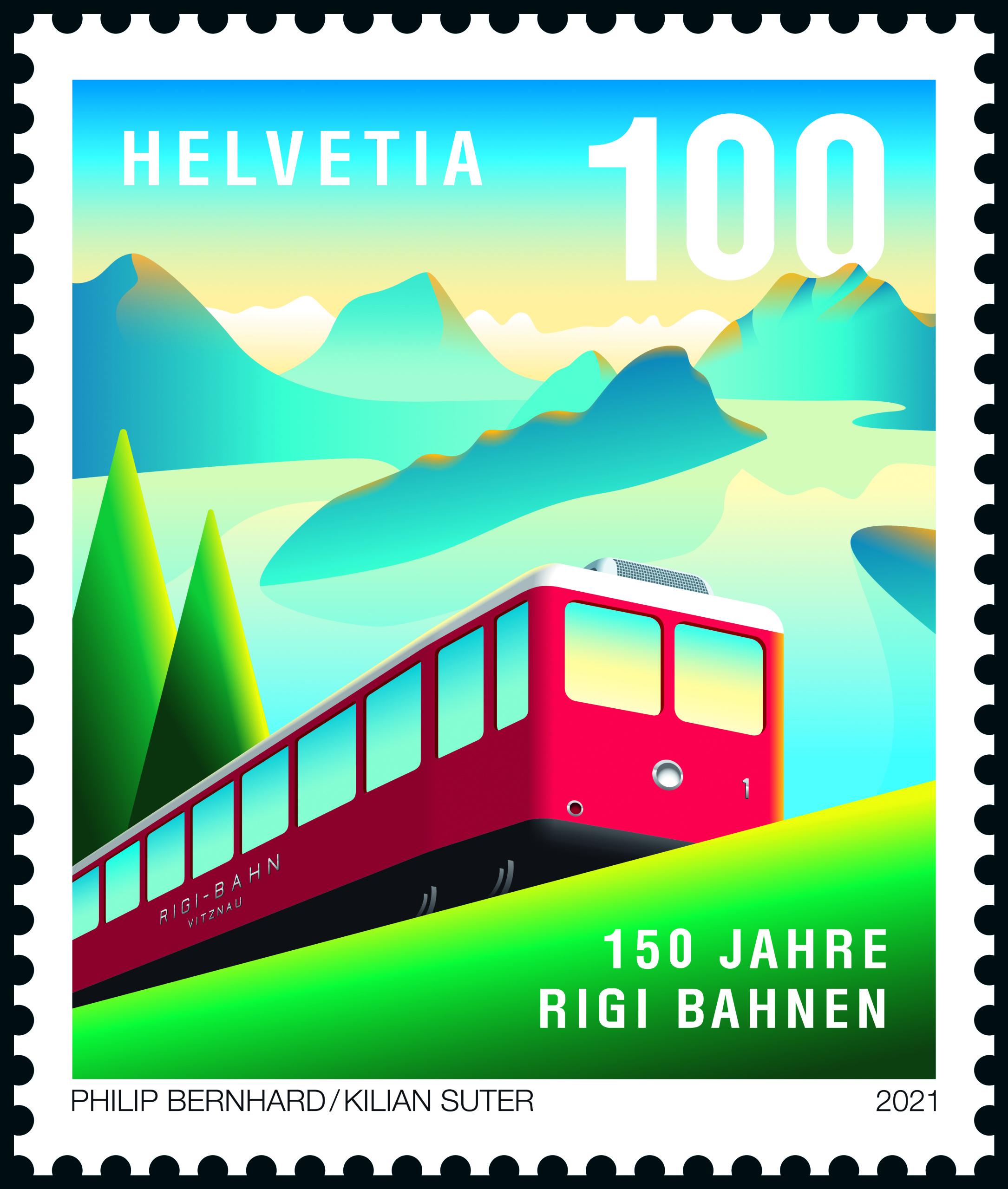 Rigi Railways stamp